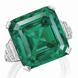 18.4-Carat 'Rockefeller Emerald' Sets World Auction Record at Christie's in Rockefeller Center