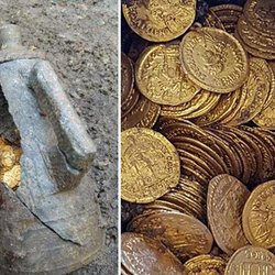 Italian Archaeologists Discover Hundreds of Roman Gold Coins Dating Back 1,500 Years